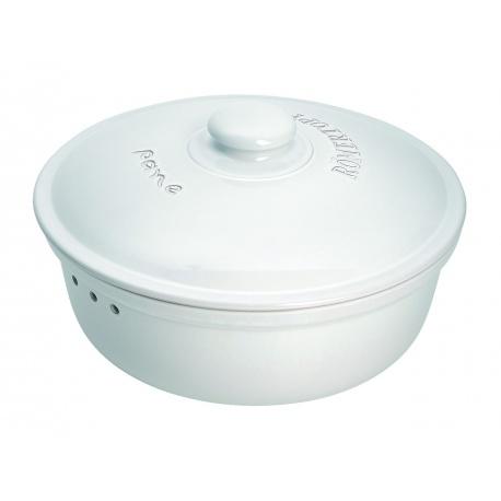 Chlebak - okrągły, biały