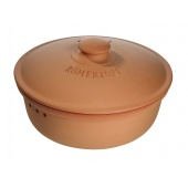 Chlebak RÖMERTOPF® - okrągły, naturalna terakota