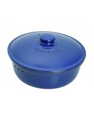 Chlebak RÖMERTOPF® - okrągły, niebieski